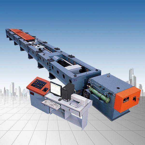 煤矿窄轨车辆连接件卧式拉伸强度试验机
